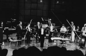 World premiere of Lichtbogen 1986, Ensemble 2E2M, Paris