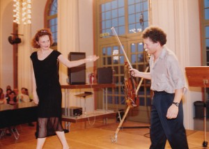 Irvin Arditti and Kaija Saariaho