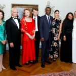 Polar Prize 2013 - Queen Silvia and the King of Sweden Karl XVI, Aleksi Barrière, Youssou N'Dour, Princess Victoria and Aïda Coulibaly