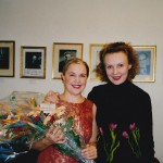 Composer Festival in Stockholm (2002), with Anu Komsi