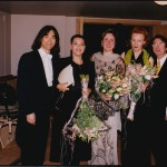 After the premiere of L'Amour de loin, Salzburg August 15, 2000:
