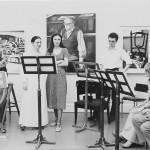 Bruden in Taidehalli, Helsinki with soprano Marjatta Airas 1977