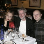 After Notes on Light world premiere in Boston 2007, Kaija Saariaho, Jukka-Pekka Saraste, Anssi Kartunnen