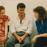 In Darmstadt with Rodney Sharman and Camilla Hoitenga 1992