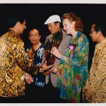 Music Prize in Jakarta, Indonesia, 1989