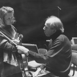 With Gidon Kremer, Maison de la Radio France 1996