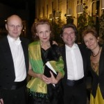 Wihuri Foundation Sibelius Prize Gala in Helsinki 2009 with Anssi Karttunen, Florent Jodelet, Tuija Hakkila