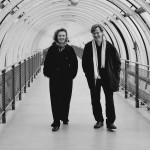 with Magnus Lindberg at the Pompidou Centre, Paris in 2002